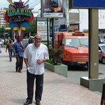 Samora avenue by the hotel entrance