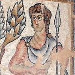 Ancient mosaic at Tzipori