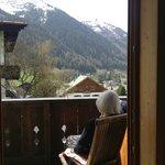 View from Apt. 1, Anna Luise St. Anton Austria