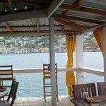 Inside Ocean Grill Restaurant