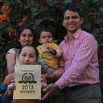 happy photo,tripadvisor ,travellers,choice-2013 winner ,raj's family photo