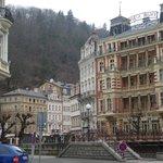 Paisaje, color y bella arquitectura