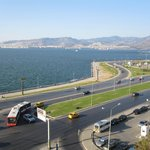 View of Izmir from hotel room