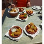 A selection of the delicious tapas.
