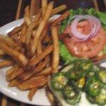 3 Pepper burger