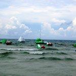 choppy seas = more challenging