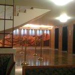 Entrada elevadores restaurantes