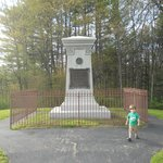 General Braddock's current gravesite.
