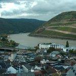 View of NH Bingen from Klopp Castle
