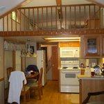 #8 Cabin kitchen and loft