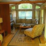 #8 cabin living area