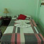 la habitación donde nos hospedamos