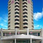 La Fachada del Hotel Crowne Plaza Santo Domingo