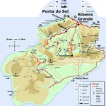 Ponta do Sol, le port de la zone verte de Santo Antao