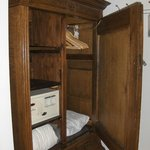 Wardrobe With Safe Deposit Box