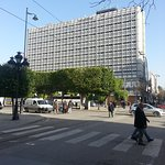 hotel visto dal boulevard Habib Bourghiba
