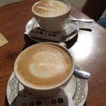 Café con estilo y muy bueno