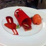 dessert a la fraise