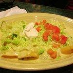 Pedro had White Queso Cheese Enchiladas