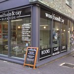 Drop by for coffee, cakes and teas