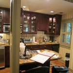 Full gourmet kitchen with breakfast bar, the Jenkins House