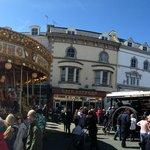 Mostyn Street during the annual Llandudno Victorian Extravaganza