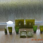 Complimentary Bath Products