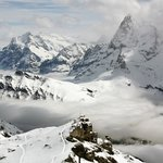 The Schilthorn (there is always some sun if you go up high enough)