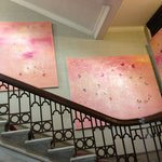 The pink canvasses which another reviewer also mentioned just dont fit with the the castle