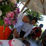 Buffet di dolci - eventi all'aperto