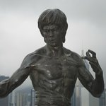 the wonderful statue of Bruce Lee