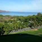 Hermosa vista desde el restaurante del hotel