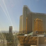 view of Mandalay Bay from our room (day)
