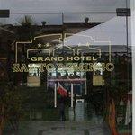 Entrance of Grand Hotel Santo Domingo