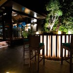 An Outdoor Oasis at the Dusit Club Lounge