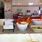 Yummi!  Delicious salsas...