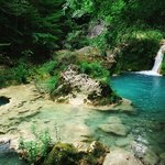 diferente perspectiva de cascadas