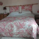 Pink bed!