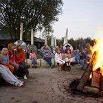 Feriendorf - Lagerfeuerromantik im Sommer