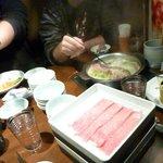 Shabu shabu y sukiyaki