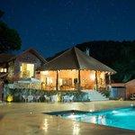 The Villa at night