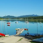 Le Lac de Montbel à 2 minutes du Moulinet