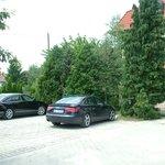 Enclosed parking place