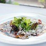Carpaccio of beef fillet