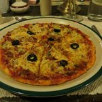 A pizza at 4250m - and boy was it good!