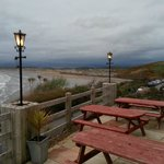 Outside seating area - view of Rossnowlagh Beach