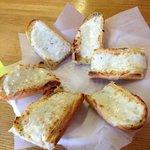 yummy garlic bread