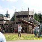 wooden castle HUGE