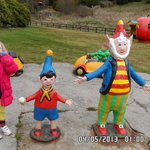 kids love noddy, lots of cars to drive too