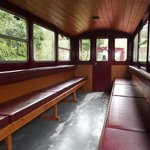 Inside replica carriage